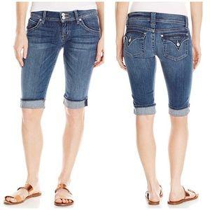 Hudson Jeans PALERME Denim Bermuda Shorts Blue 28